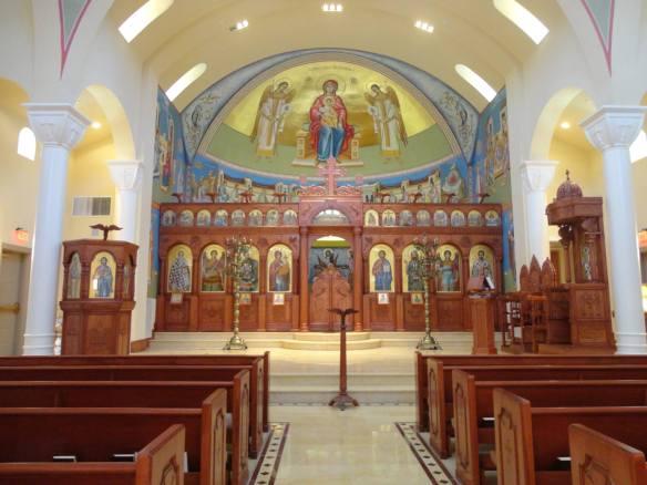 St. Demetrios inside